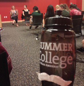 Walter Bottle also learned a lot from the Admissions Panel!