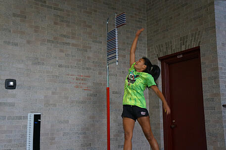 Leah Finn-Erblearned how static stretches actually hurt her performance as she is used to active stretching
