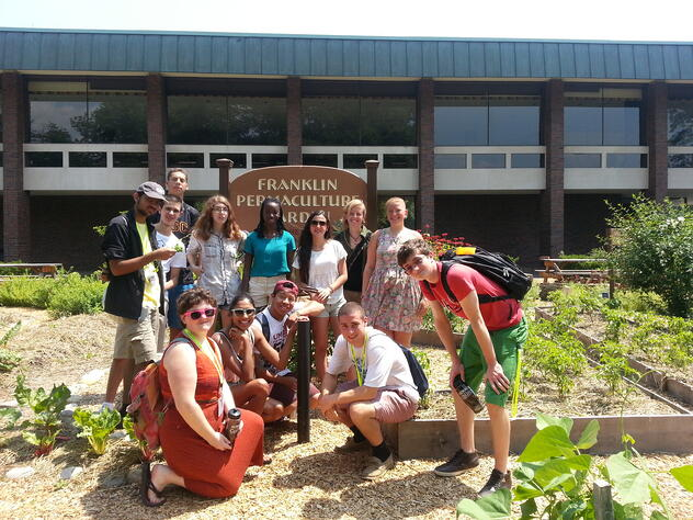 SILS Group at Permaculture Garden