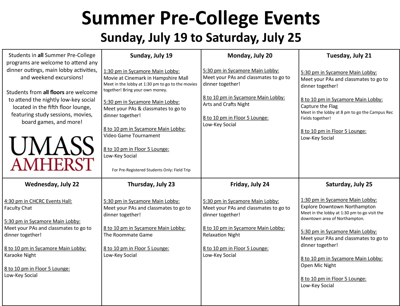 Summer_Pre-College_Event_Calendar_July_19_-_25